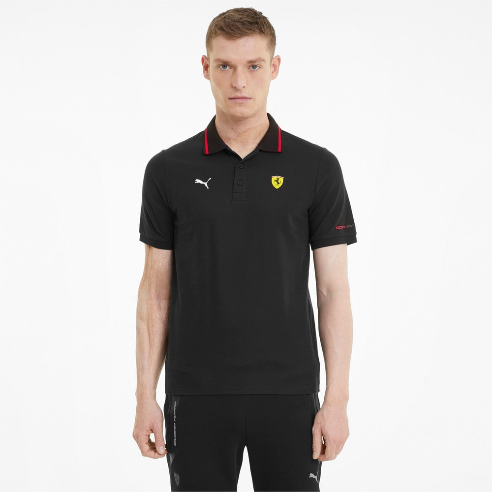 Зображення Puma Поло Scuderia Ferrari Race Men's Polo Shirt #1