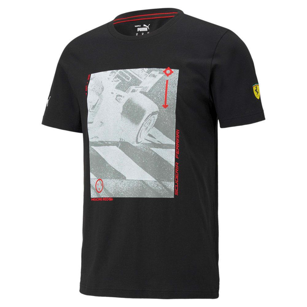 Görüntü Puma SCUDERIA FERRARI Race GRAPHIC Erkek T-Shirt #1