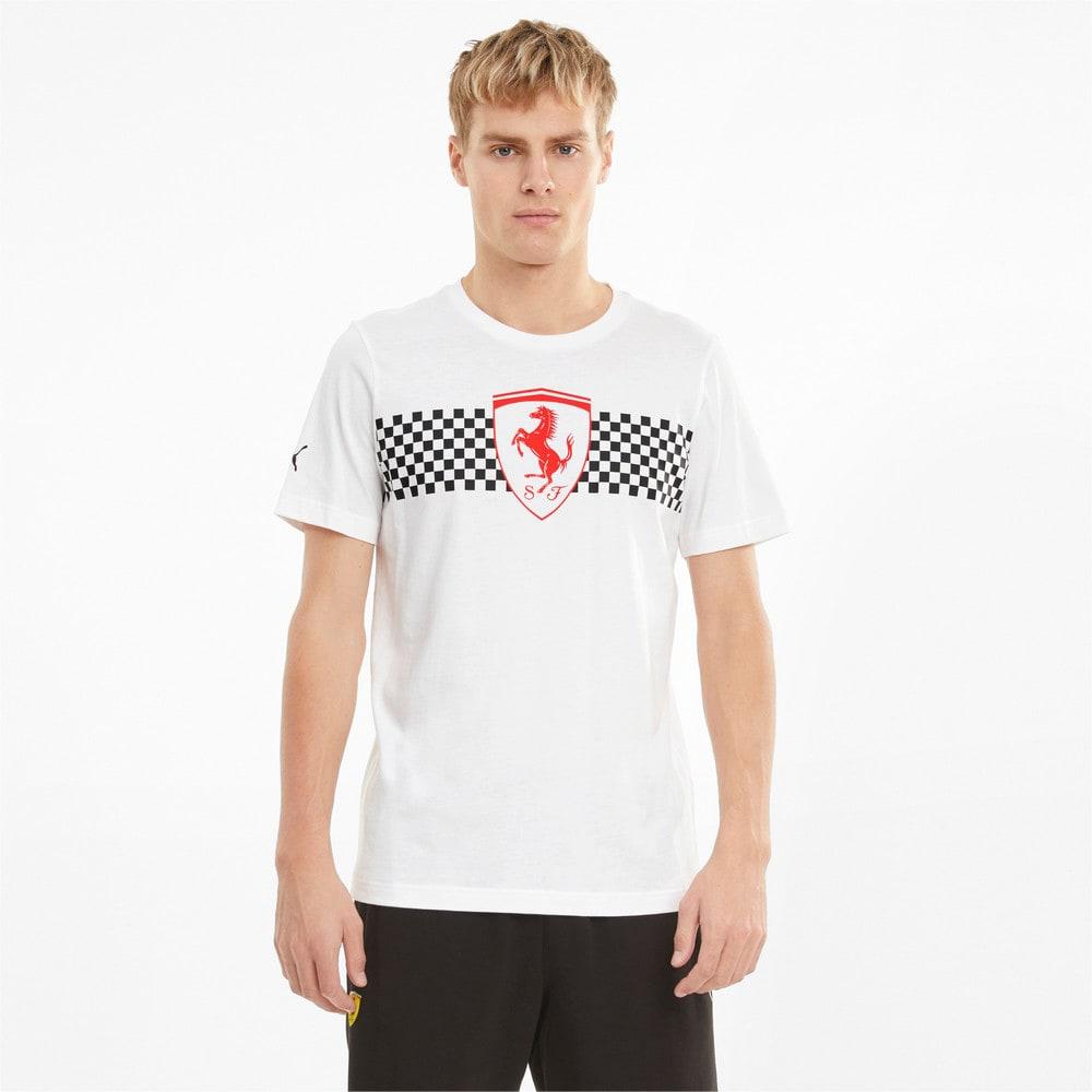 Изображение Puma Футболка Scuderia Ferrari Chequered Flag Men's Tee #1
