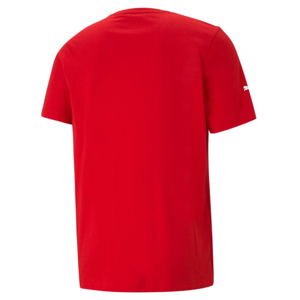 Görüntü Puma SCUDERIA FERRARI Race BIG SHIELD Erkek T-Shirt #2