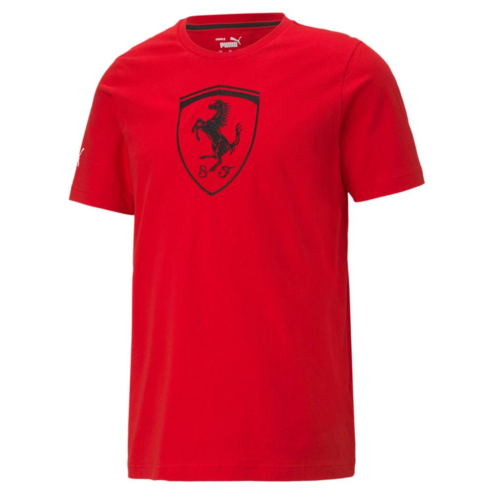 Görüntü Puma SCUDERIA FERRARI Race BIG SHIELD Erkek T-Shirt #1
