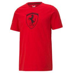 SCUDERIA FERRARI Race BIG SHIELD Erkek T-Shirt