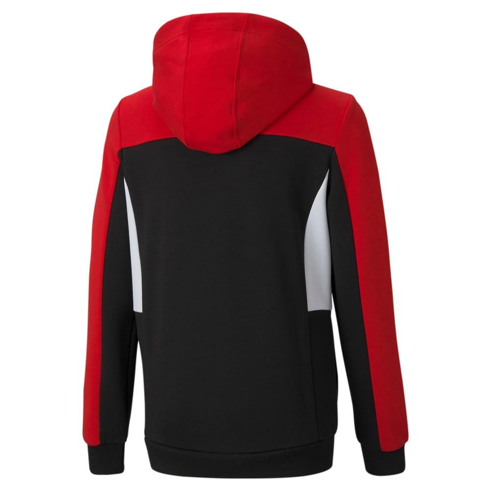Изображение Puma Детская толстовка Scuderia Ferrari Hooded Youth Sweat Jacket #2