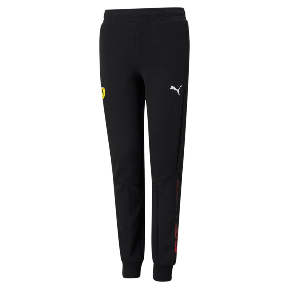 Изображение Puma Детские штаны Scuderia Ferrari Youth Sweatpants #1