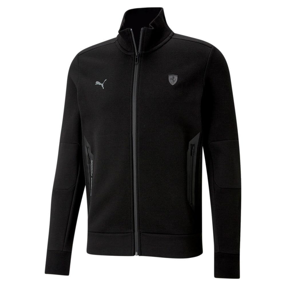 Зображення Puma Толстовка Scuderia Ferrari Style Men's Sweat Jacket #1: Puma Black