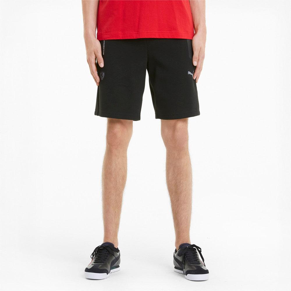 Изображение Puma Шорты Scuderia Ferrari Style Men's Sweat Shorts #1: Puma Black