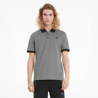 Изображение Puma Поло Scuderia Ferrari Style Two-Tone Men's Polo Shirt