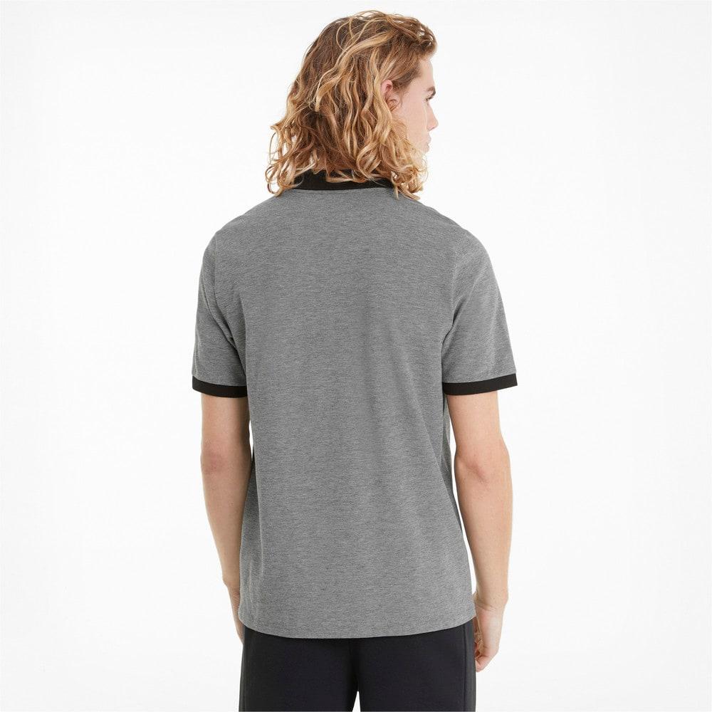 Зображення Puma Поло Scuderia Ferrari Style Two-Tone Men's Polo Shirt #2: Puma Black
