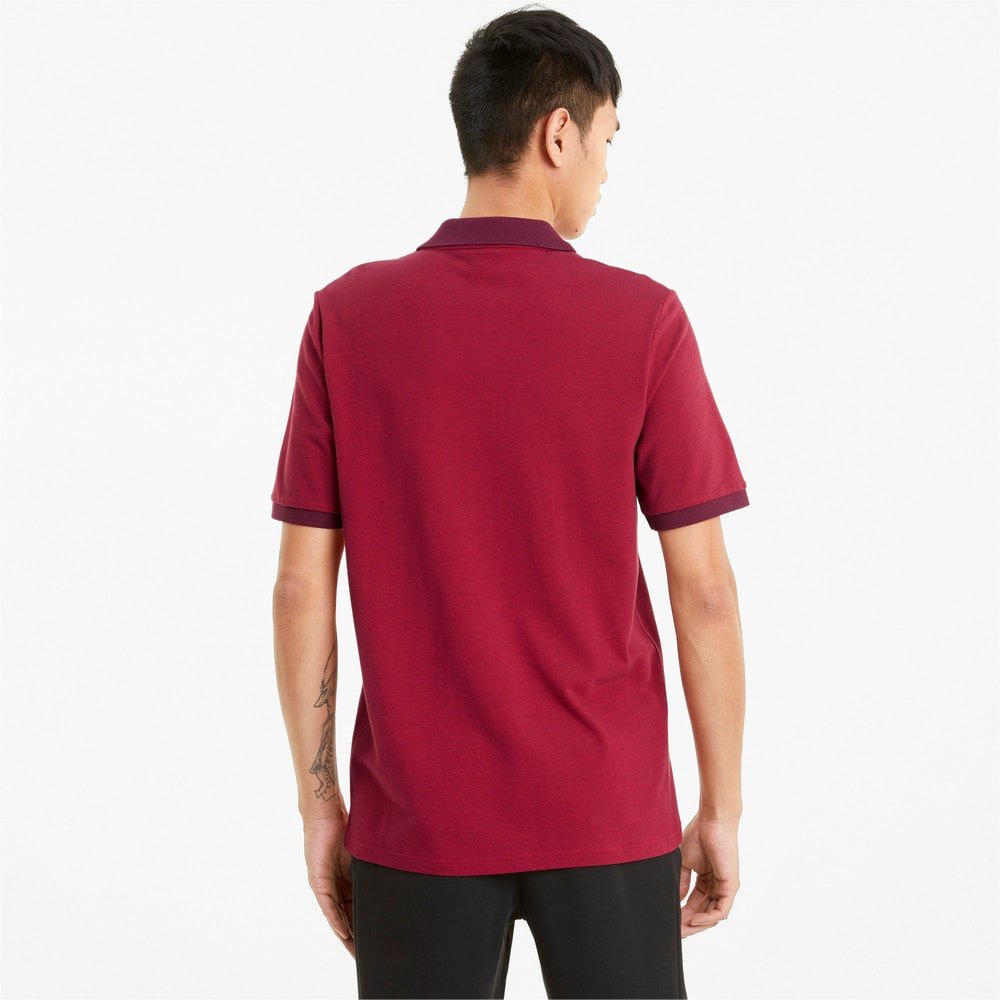 Зображення Puma Поло Scuderia Ferrari Style Two-Tone Men's Polo Shirt #2