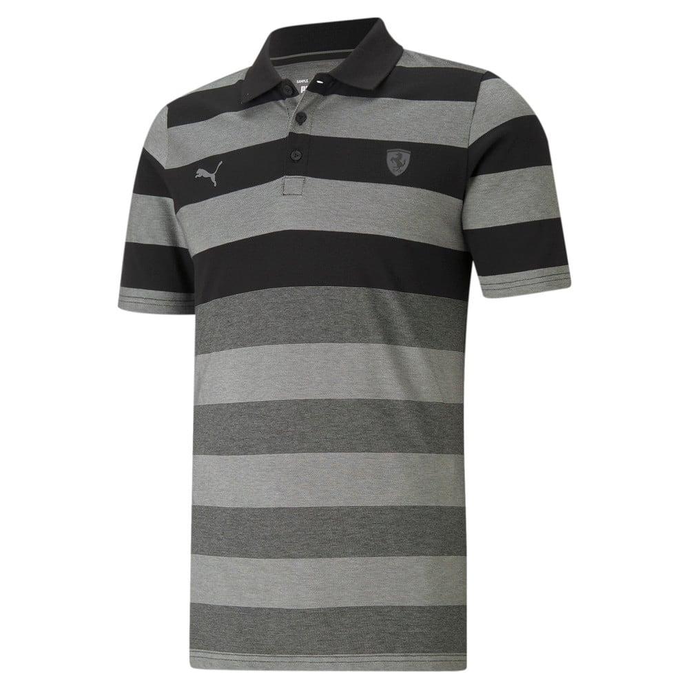 Görüntü Puma SCUDERIA FERRARI  STRIPED Erkek Polo T-Shirt #1