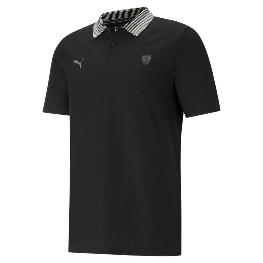 Изображение Puma Поло Scuderia Ferrari Style Gradient Men's Polo Shirt #1