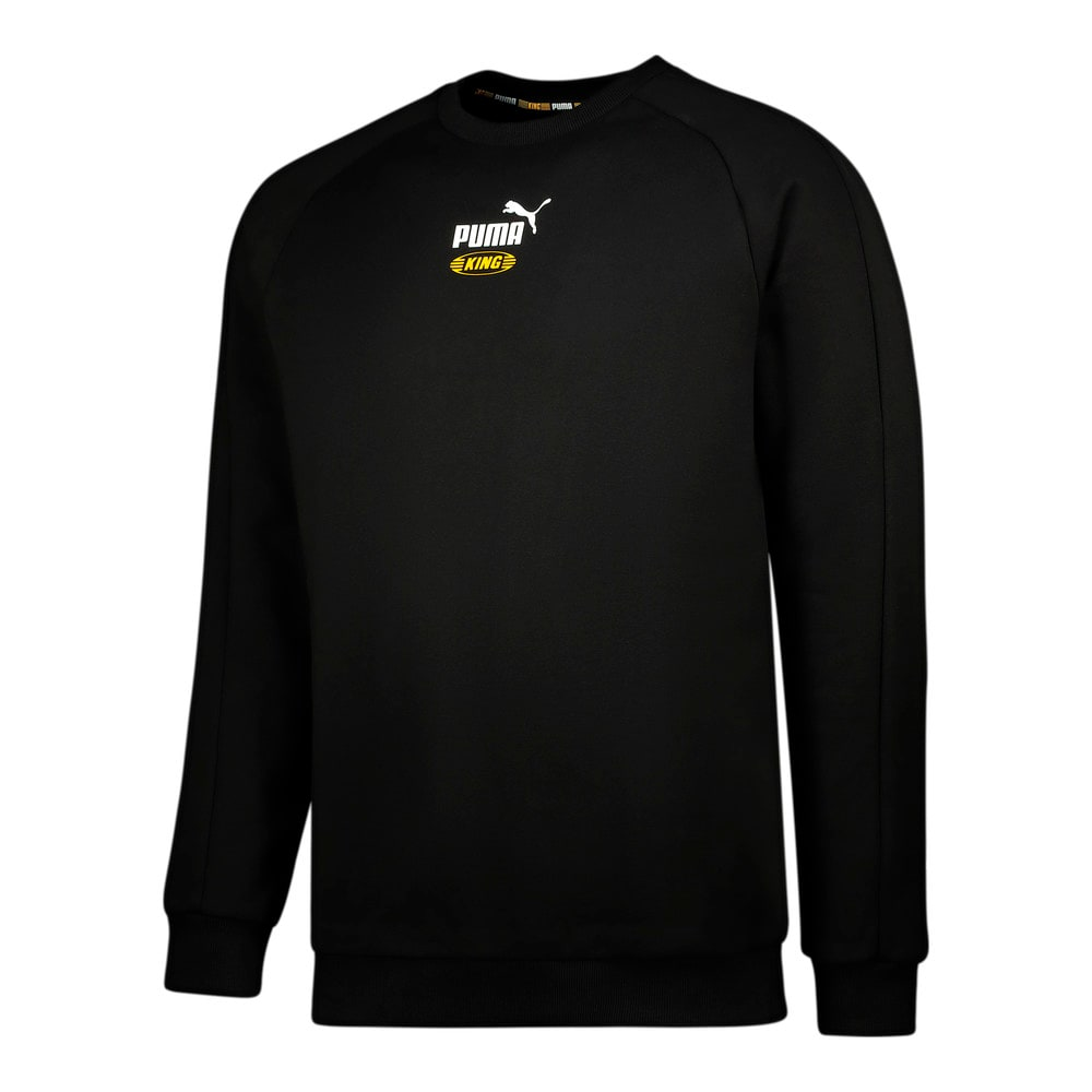 Image Puma Iconic KING Crew Neck Men's Sweatshirt #1