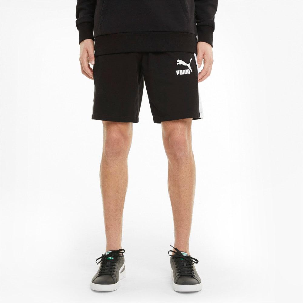 Imagen PUMA Shorts de punto de 20 cm para hombre Iconic T7 #1