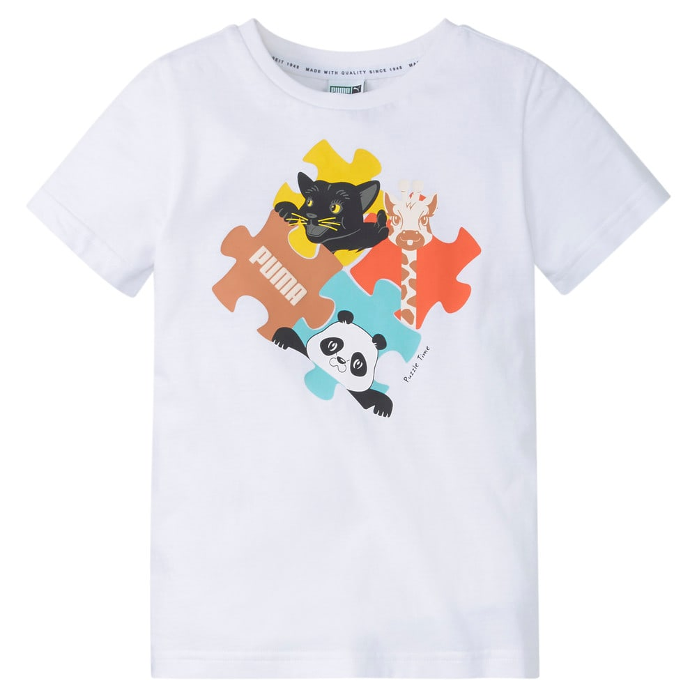 Изображение Puma Детская футболка Paw Advanced Kids' Tee #1