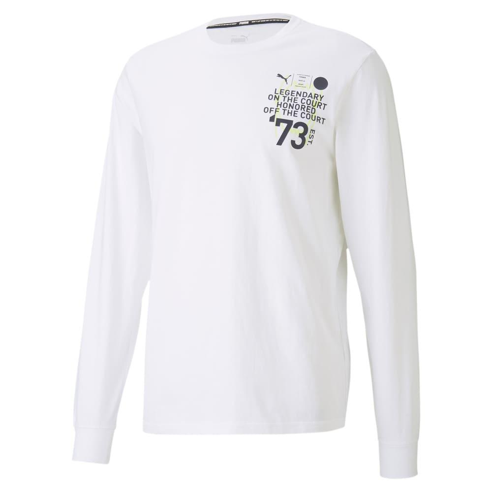 Image PUMA Camiseta Manga Longa Parquet Masculina #1
