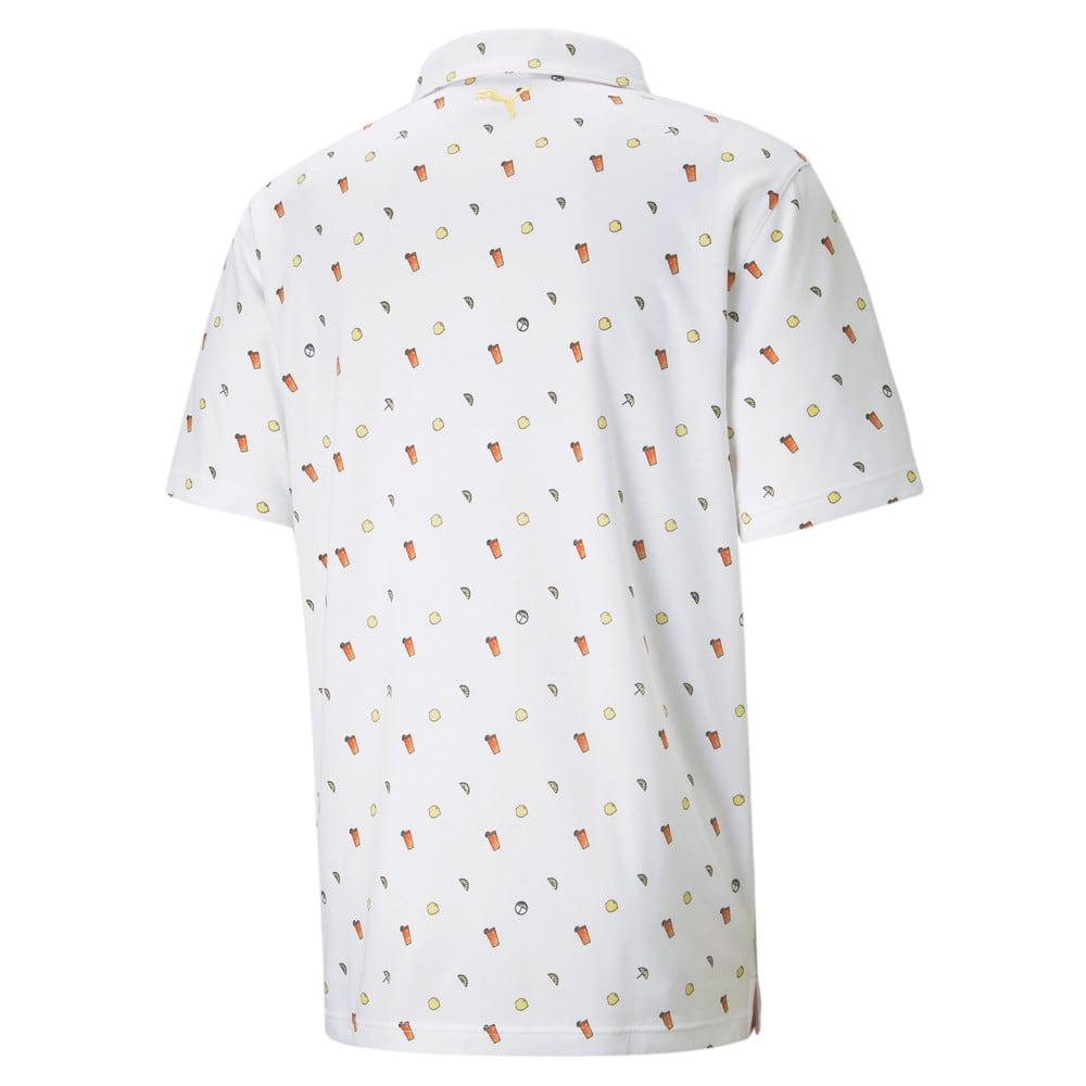 Image Puma PUMA x ARNOLD PALMER Lemons Men's Golf Polo Shirt #2