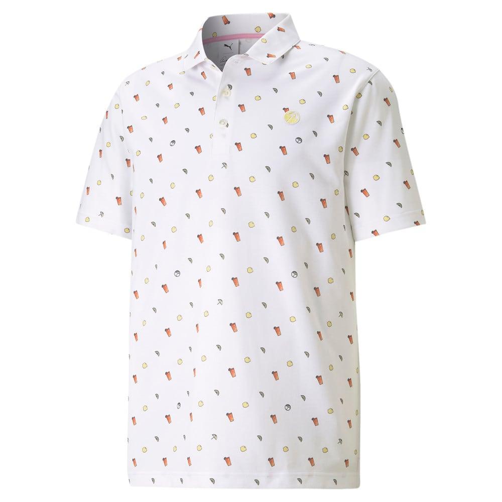 Image Puma PUMA x ARNOLD PALMER Lemons Men's Golf Polo Shirt #1