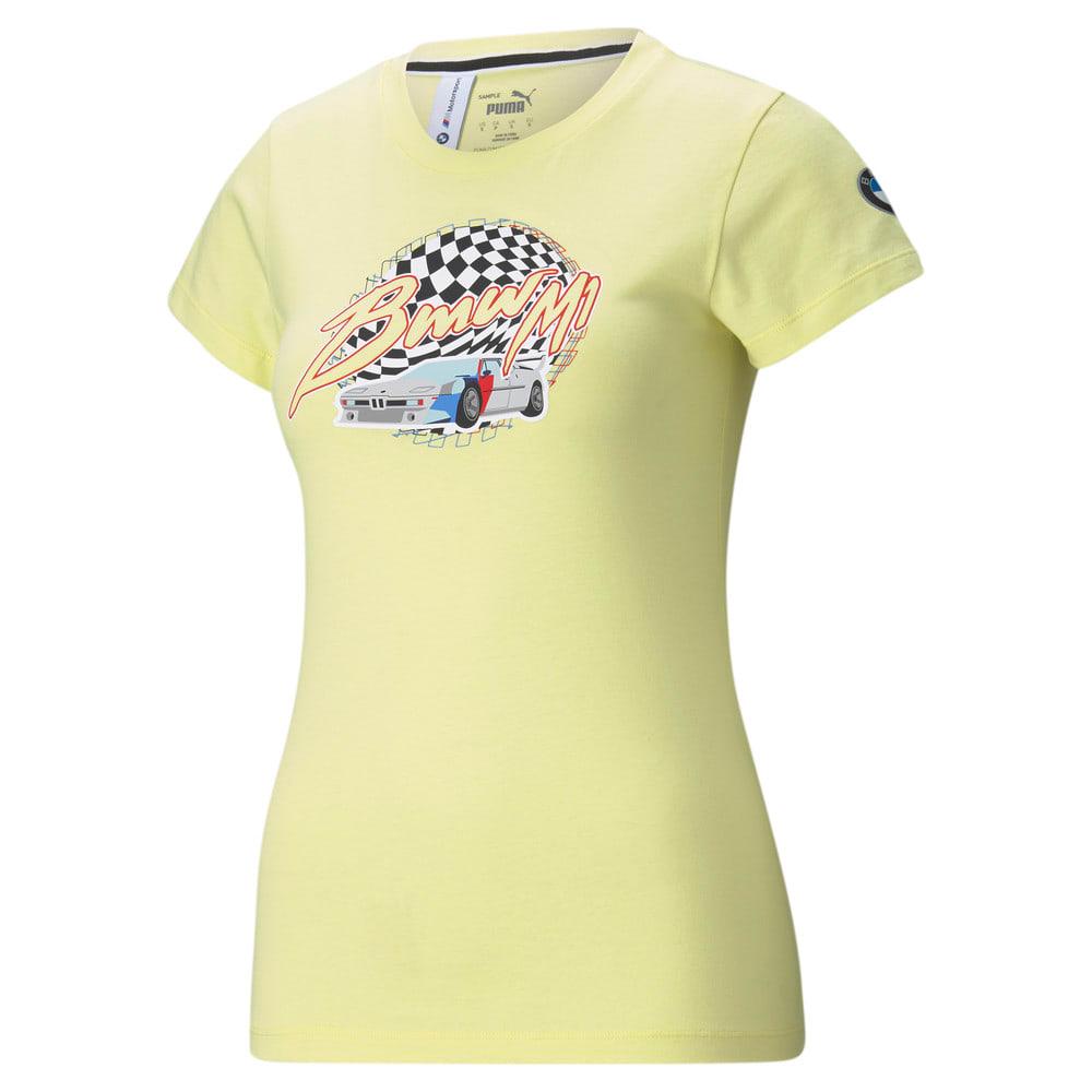 Görüntü Puma BMW M Motorsport VINTAGE Kadın T-shirt #1