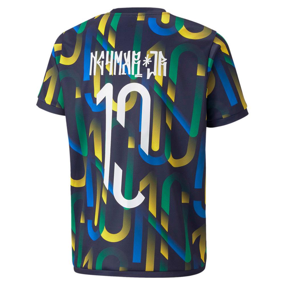 Görüntü Puma Neymar Jr Future PRINTED Çocuk Futbol Forma #2