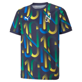 Изображение Puma Детская футболка Neymar Jr Future Printed Youth Football Jersey
