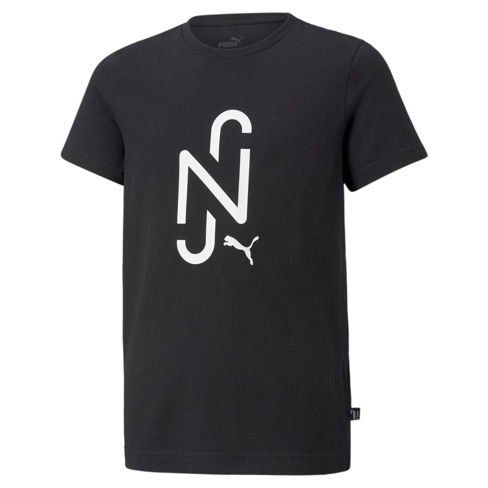 Изображение Puma Детская футболка Neymar Jr. 2.0 Logo Football Tee Jr #1