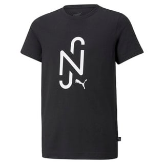 Изображение Puma Детская футболка Neymar Jr. 2.0 Logo Football Tee Jr