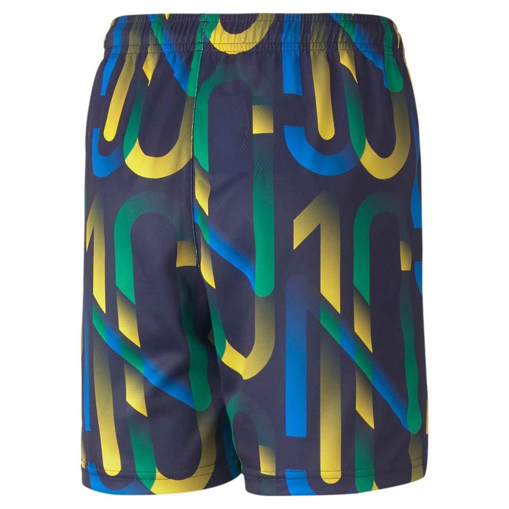 Изображение Puma Детские шорты Neymar Jr Future Printed Youth Football Shorts #2