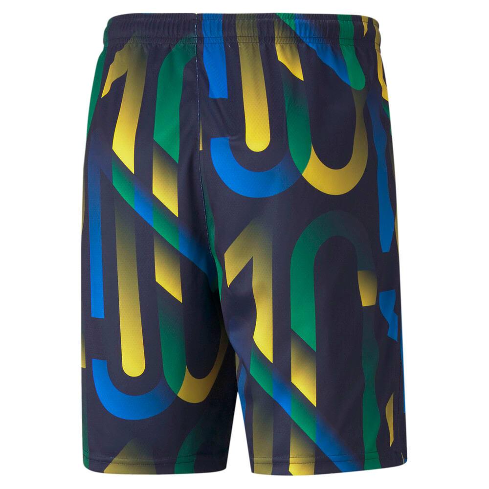 Imagen PUMA Shorts de fútbol con estampado gráfico para hombre Neymar Jr. Future #2