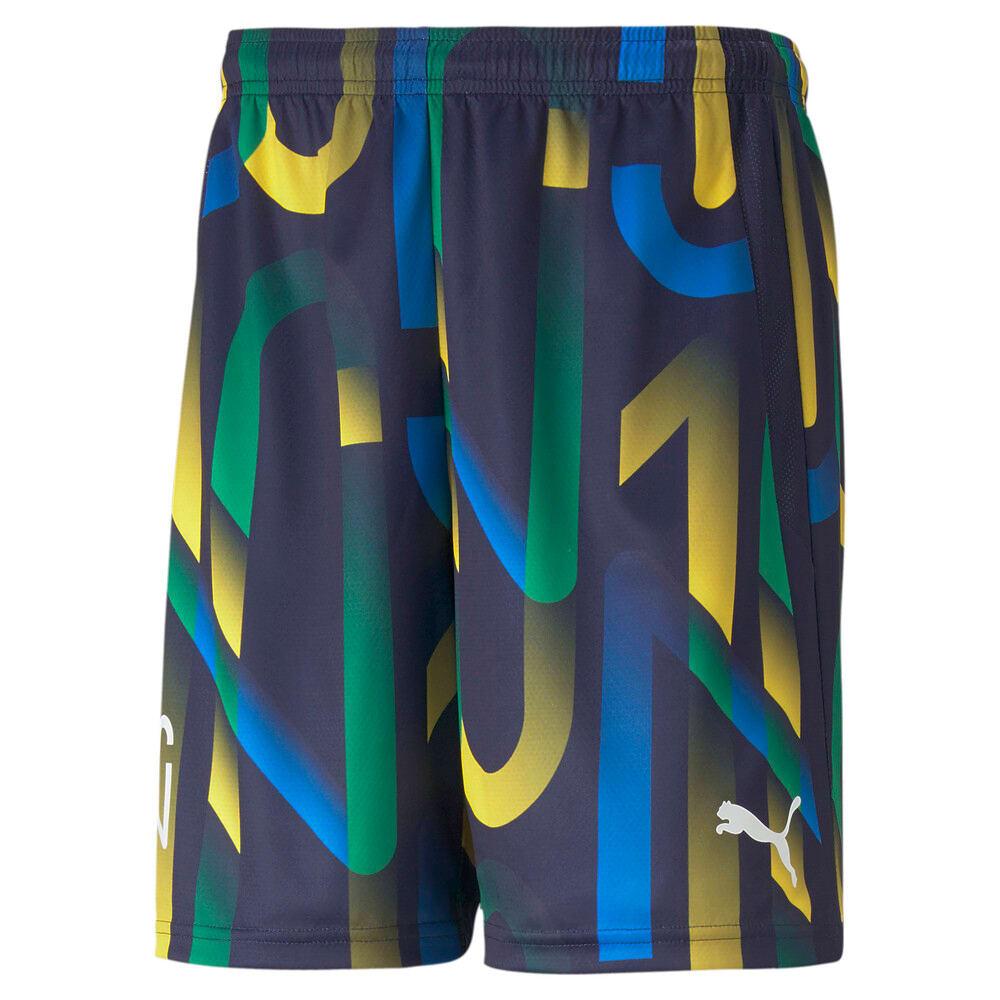 Imagen PUMA Shorts de fútbol con estampado gráfico para hombre Neymar Jr. Future #1