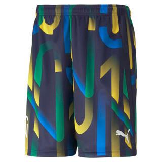 Imagen PUMA Shorts de fútbol con estampado gráfico para hombre Neymar Jr. Future