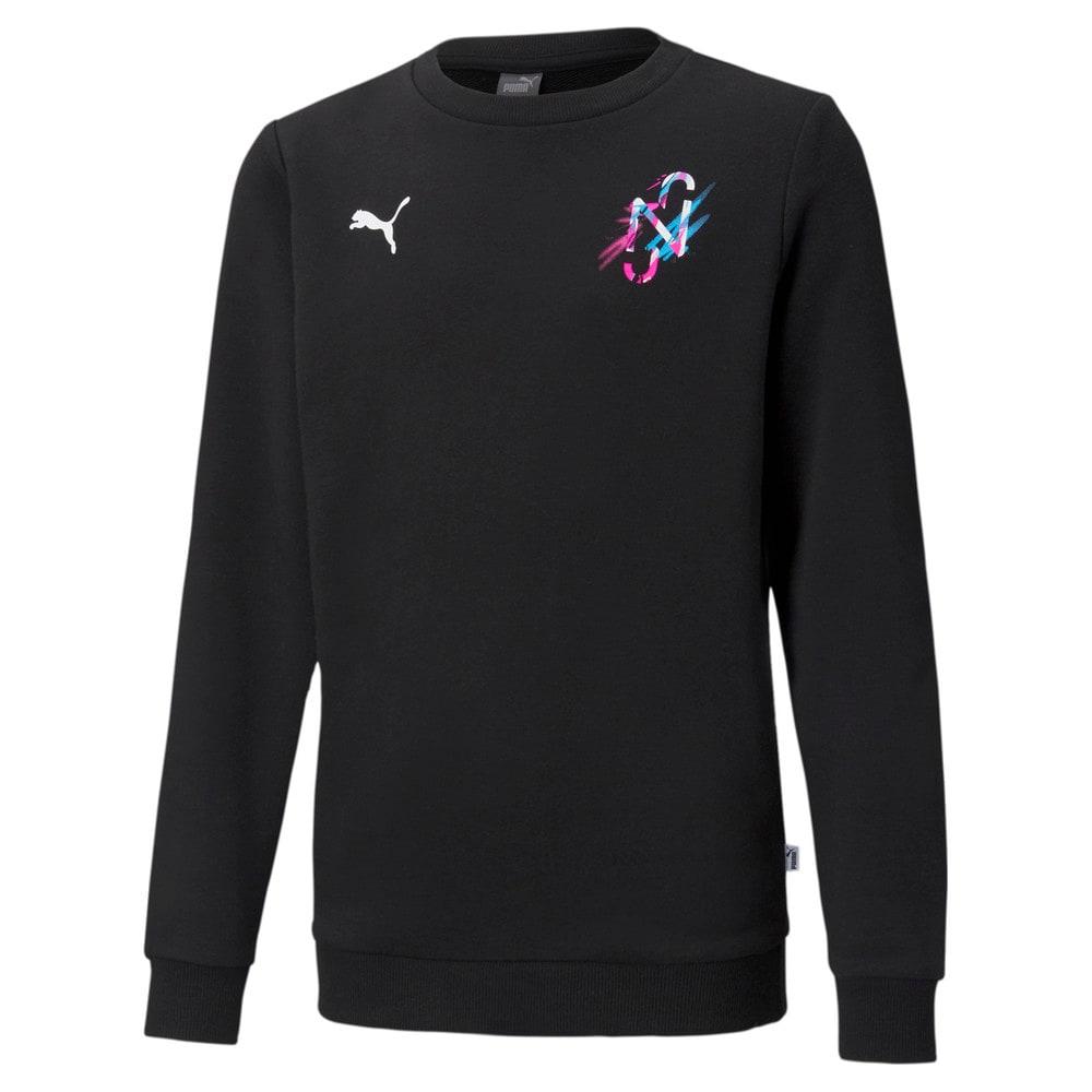 Изображение Puma Детская толстовка Neymar Jr Creativity Crew Neck Youth Sweater #1