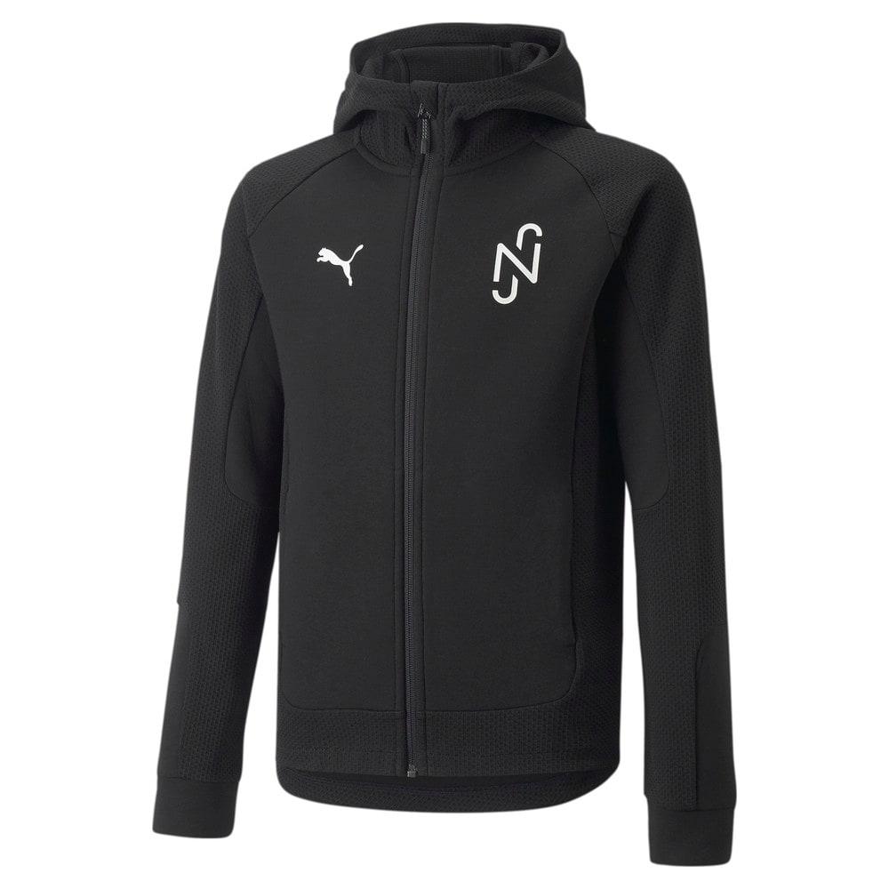 Зображення Puma Куртка Neymar Jr Evostripe Youth Jacket #1: Puma Black