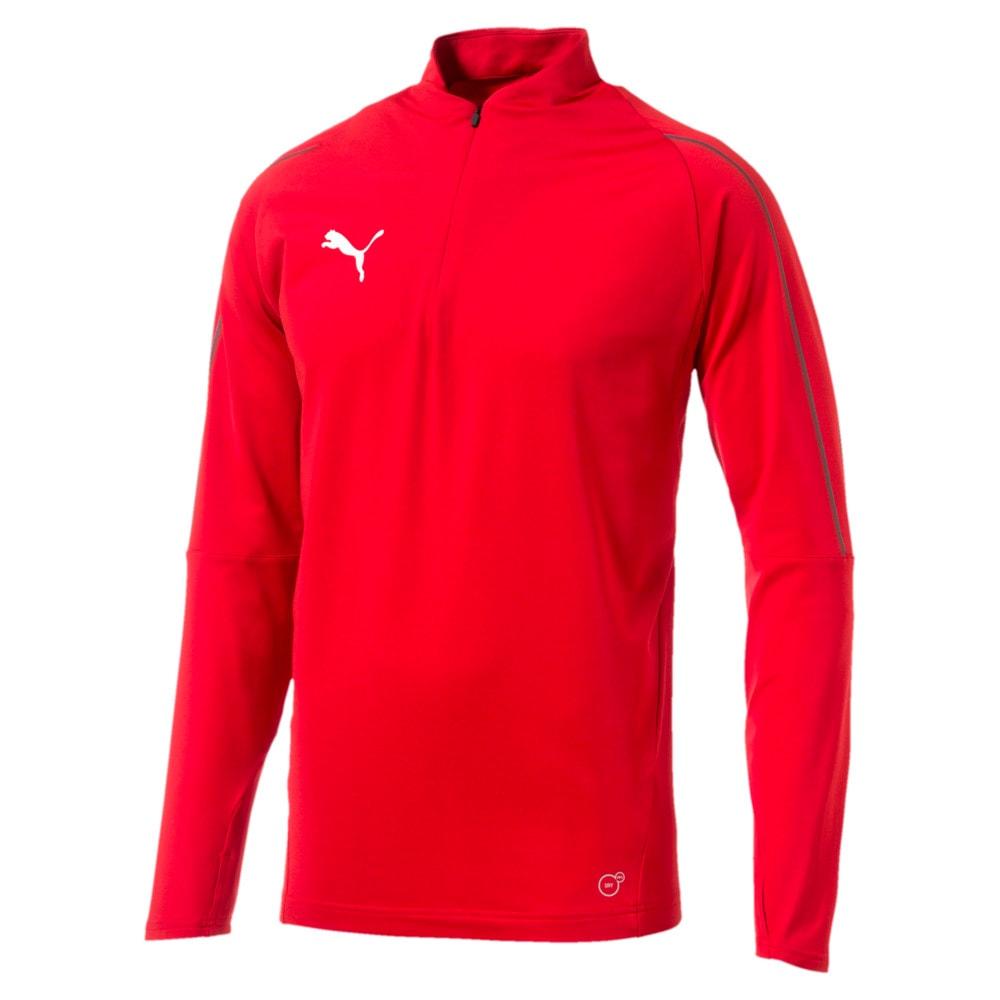 Зображення Puma Толстовка FINAL Training Quarter Zip Men's Football Sweater #1