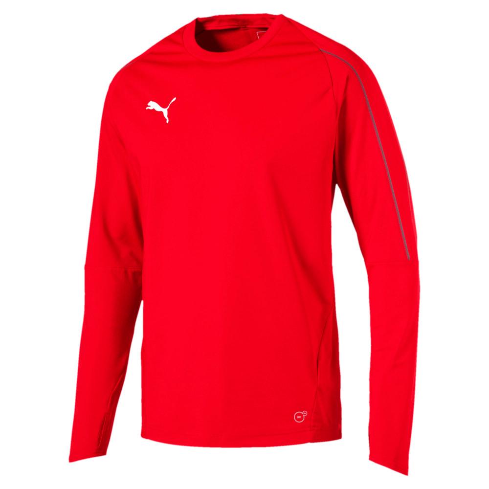 Изображение Puma Толстовка FINAL Long Sleeve Men's Training Sweater #1