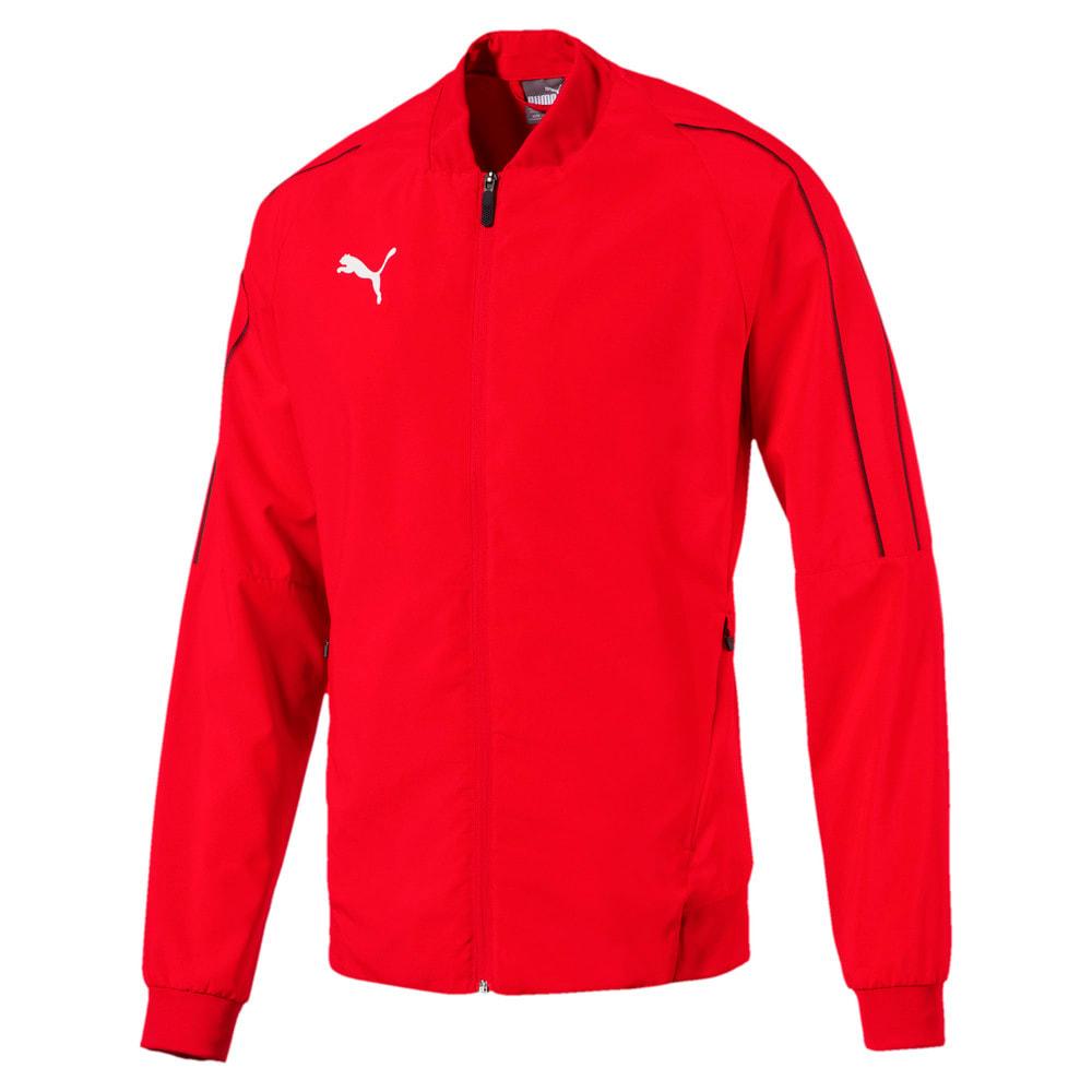 Изображение Puma Куртка FINAL Sideline Woven Full Zip Men's Football Jacket #1