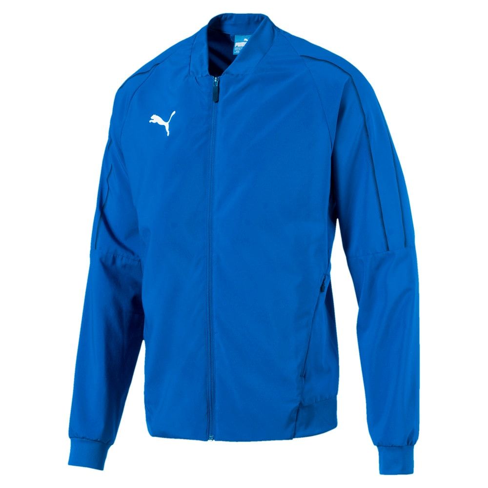 Изображение Puma Куртка FINAL Sideline Woven Full Zip Men's Football Jacket #1