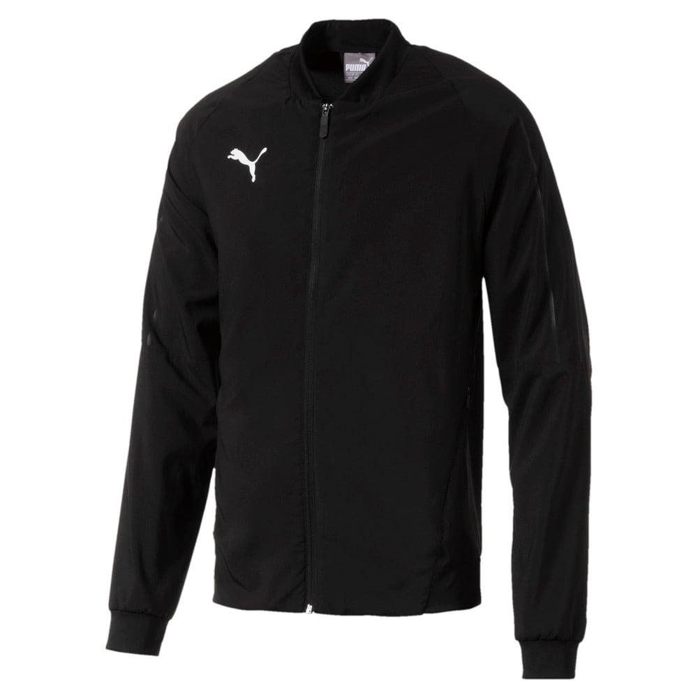 Зображення Puma Куртка FINAL Sideline Woven Full Zip Men's Football Jacket #1