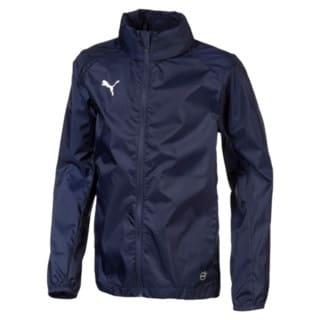 Изображение Puma Спортивный плащ-дождевик LIGA Training Full Zip Kids' Rain Jacket