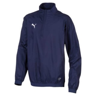 Изображение Puma Ветровка LIGA Training Quarter Zip Kids' Football Windbreaker