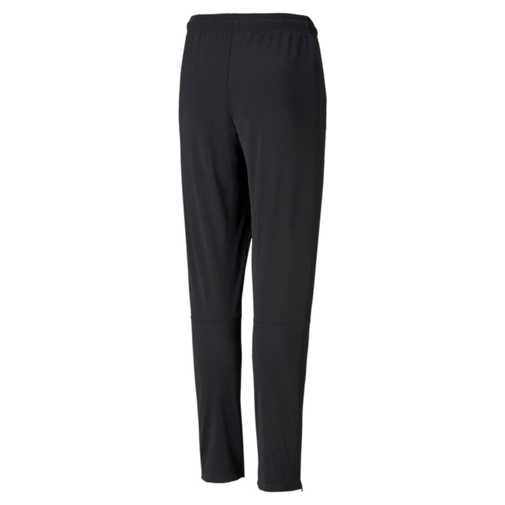Зображення Puma Дитячі штани LIGA Knitted Kids' Football Pants #2: Puma Black-Puma White