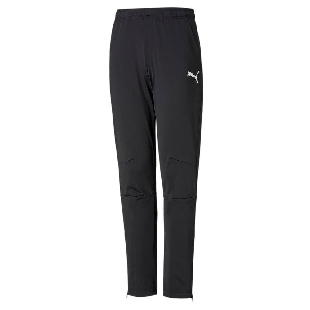 Зображення Puma Дитячі штани LIGA Knitted Kids' Football Pants #1: Puma Black-Puma White