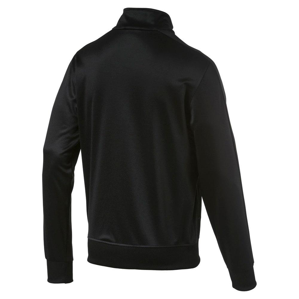 Изображение Puma Олимпийка Football Men's LIGA Casuals Track Jacket #2: Puma Black-Puma White