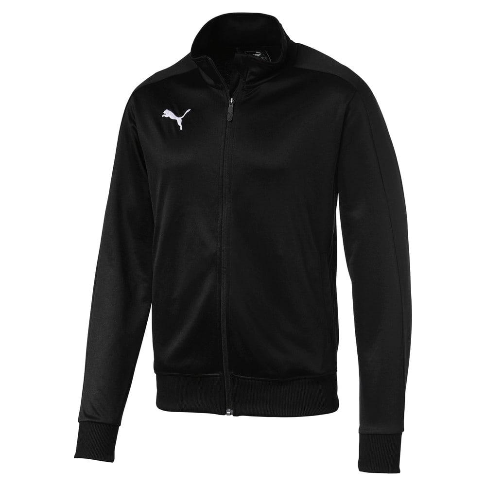 Изображение Puma Олимпийка Football Men's LIGA Casuals Track Jacket #1: Puma Black-Puma White