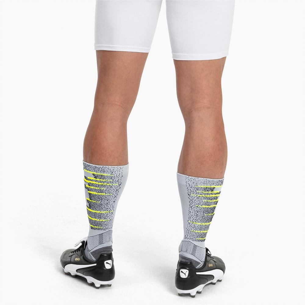 Зображення Puma Чоловічі шкарпетки ftblNXT #2: Grey Dawn-Yellow Alert