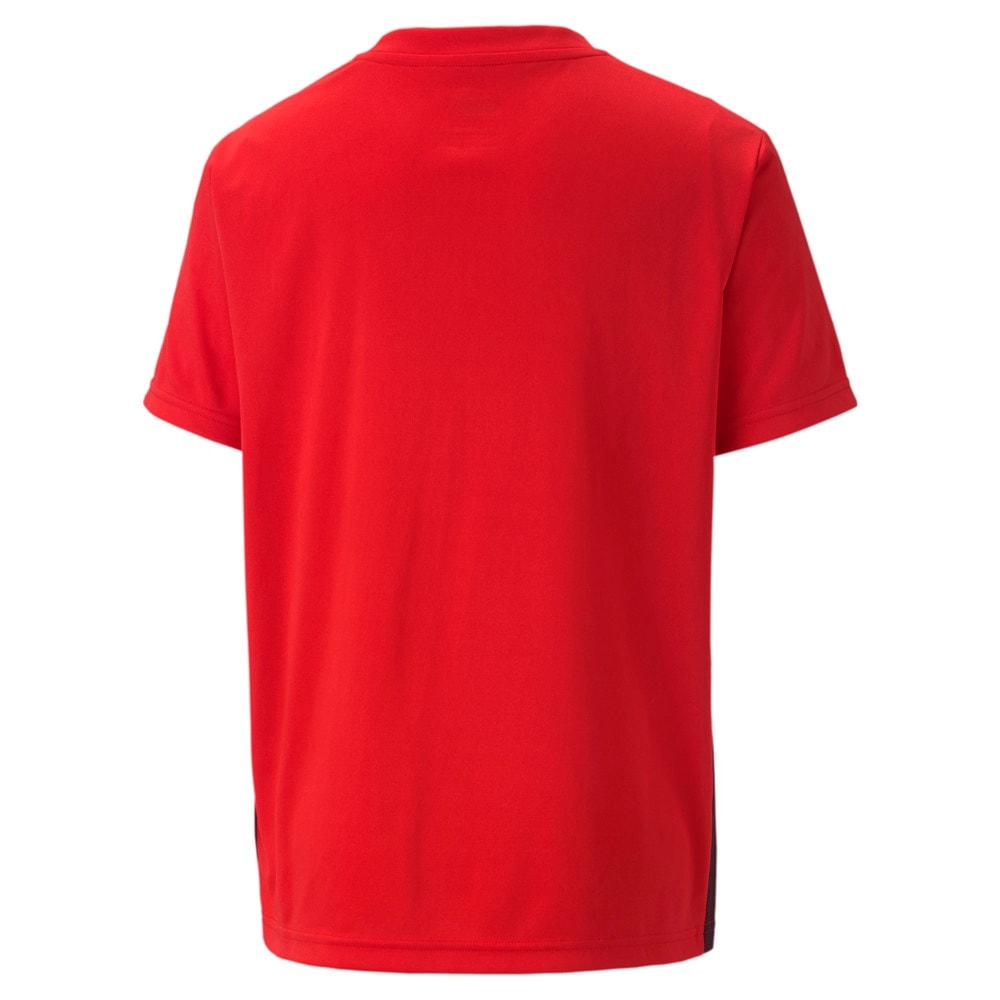 Изображение Puma Детская футболка ftblPLAY Logo Tee Jr #2