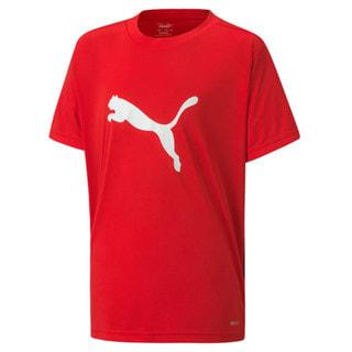 Изображение Puma Детская футболка ftblPLAY Logo Tee Jr