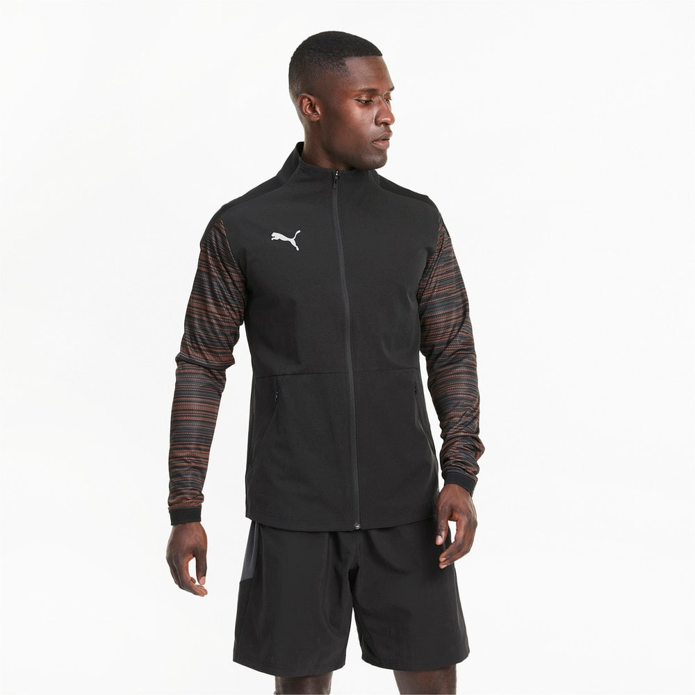 Изображение Puma Олимпийка ftblNXT Pro Jacket #1: Puma Black-Shocking Orange