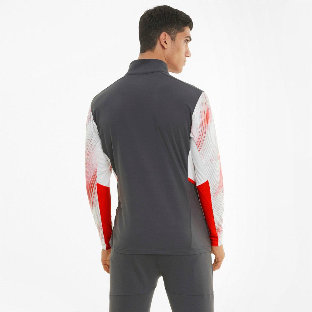 Imagen PUMA Camiseta de fútbol de manga larga con cierre corto para hombre individualCUP #2