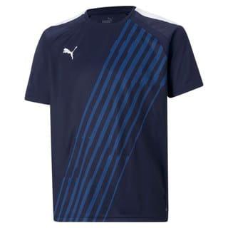 Изображение Puma Детская футболка teamLIGA Graphic Youth Football Jersey