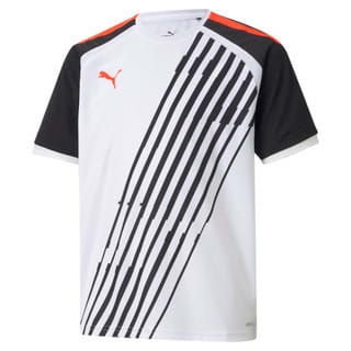 Изображение Puma Детская футболка teamLIGA Graphic Youth Football Jersey
